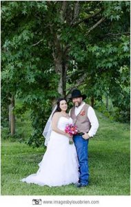They never had a big white wedding when first married - so My Wedding Wish gifted one to them