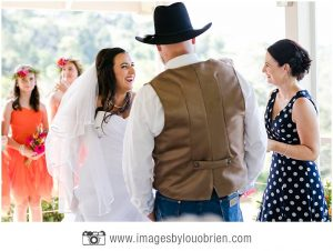 A loving ceremony, full of hope, joy and laughter