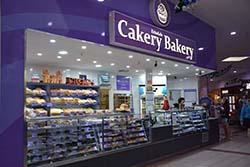 cakery bakery logo