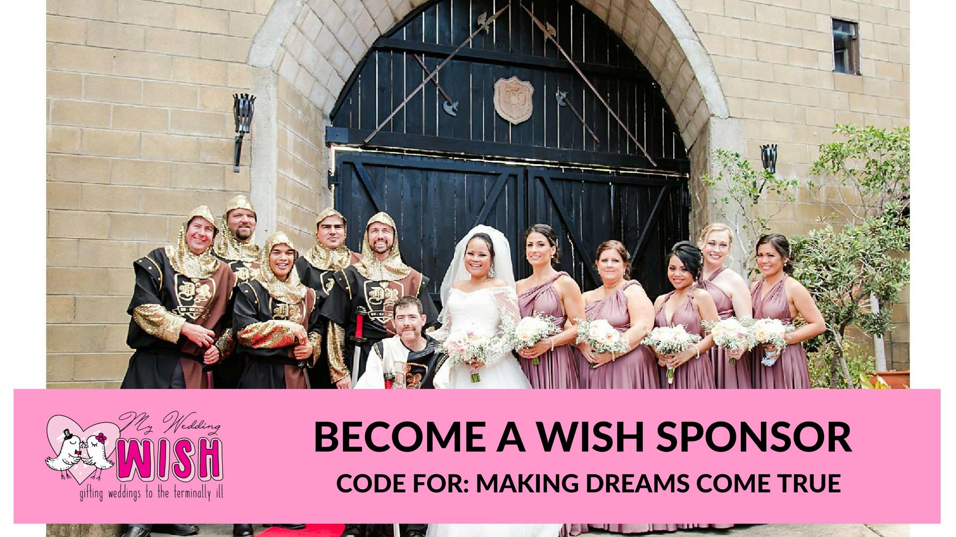 Sponsor My Wedding Wish